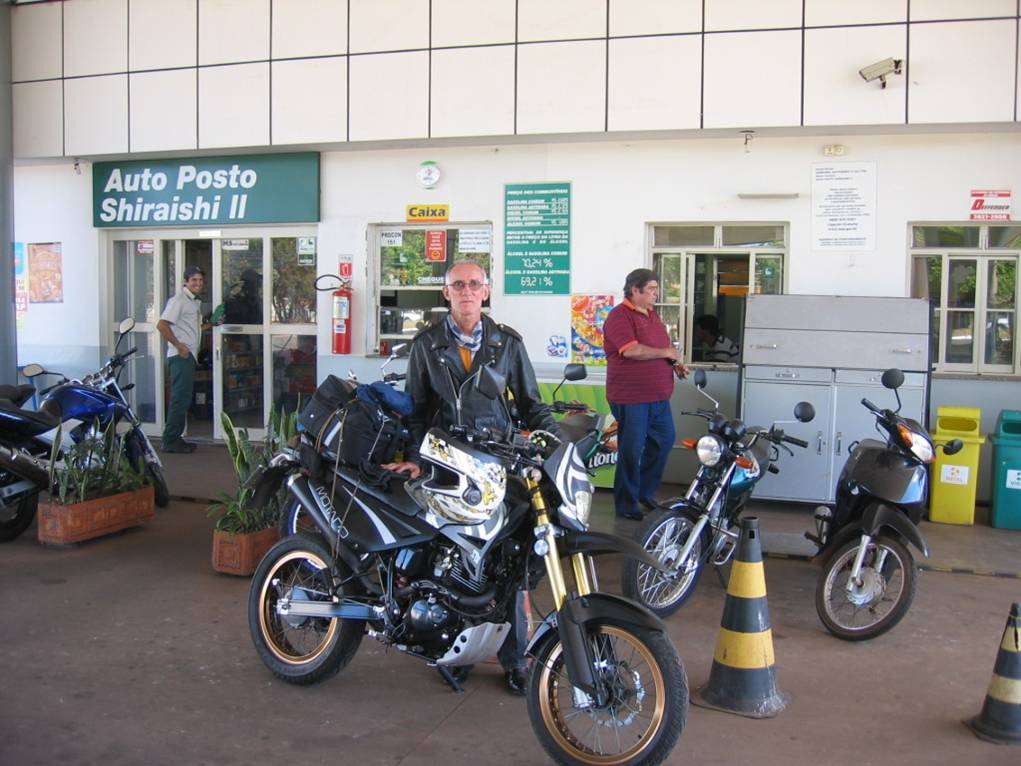 Petrol station in Campo Grande - MS.