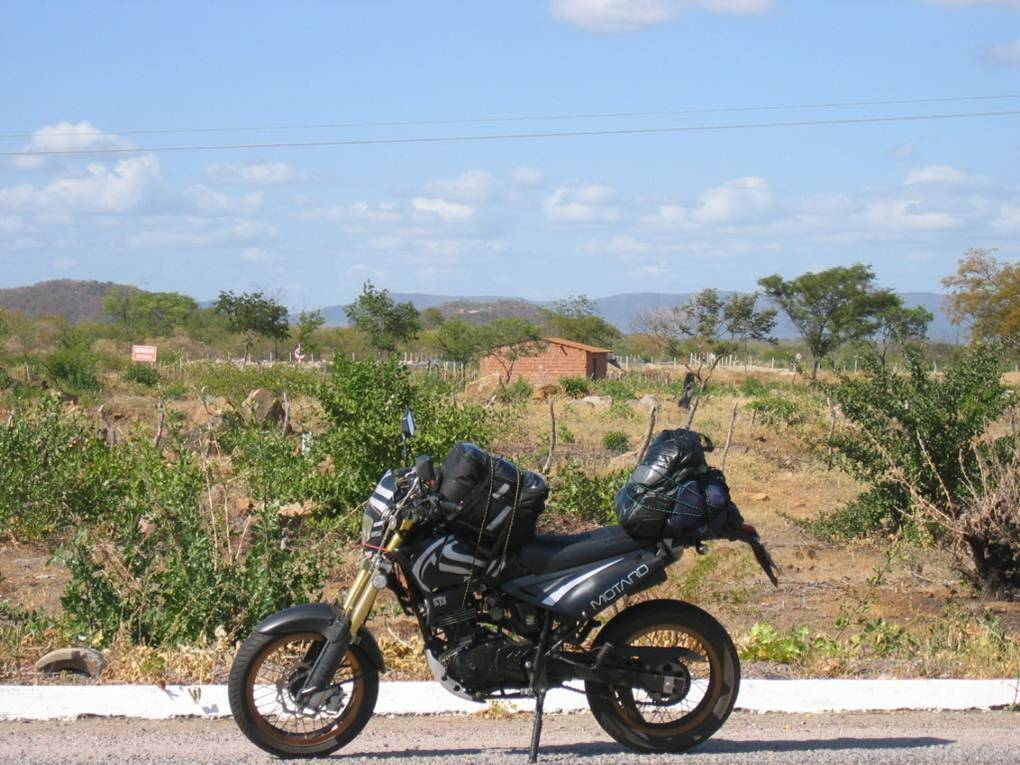 Home at rural area: Pernambuco's outback.